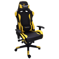 BattleBull Combat Gaming Chair Black/Yellow - BB-620961 ...
