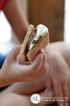 Make Peanut Butter S'Mores ~ By Stephanie Lynn