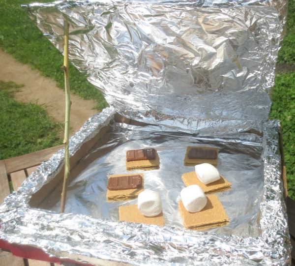 Make Solar S'Mores ~ Growing a Jeweled Rose