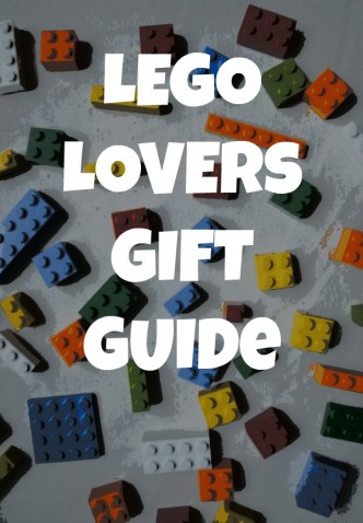Gift guide for your LEGO lover - includes clocks, games, toys, books, clothes, and more!