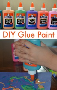 Make Your Own Glue Paint