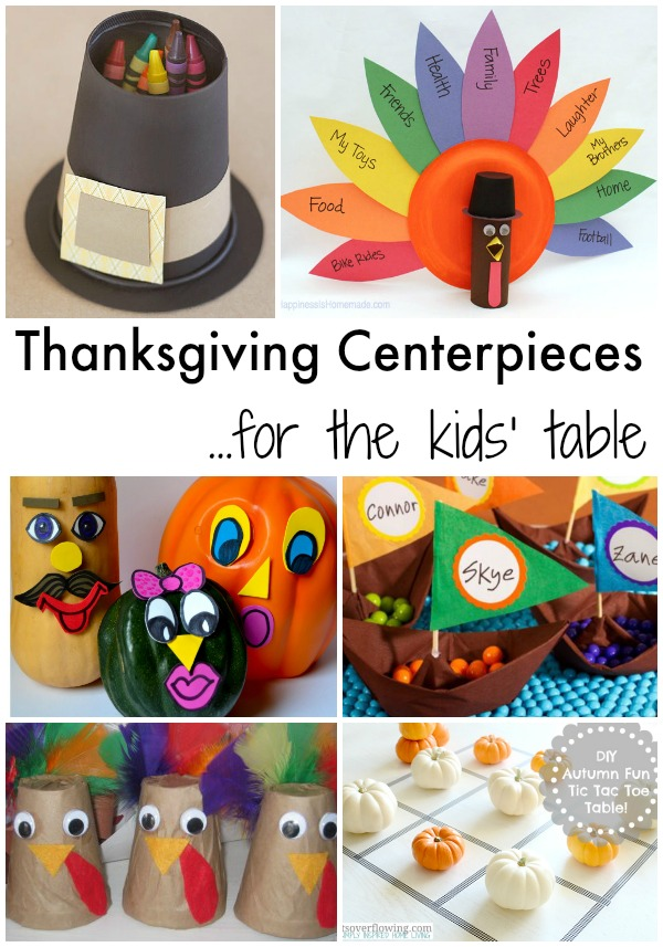 Thanksgiving Centerpieces For The Kids 39 Table Simple
