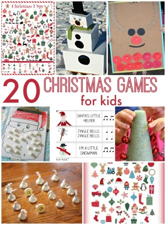20 Awesome Christmas Games for Kids
