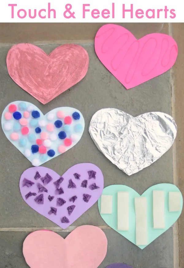 Sensory Activity - Valentine's Day Heart