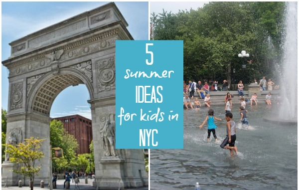 5 summer ideas for kids in New York City