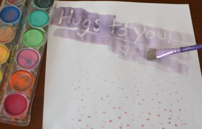 Make secret message Valentine's Day cards to give to classmates and friends!