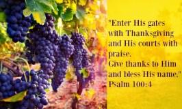 Prayer Series Part IV: Prayers of Thanksgiving
