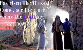 Jesus' Death and Resurrection Validates my Faith!