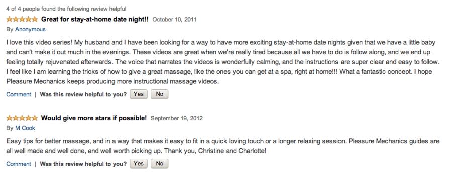 Foot Massage Video Reviews