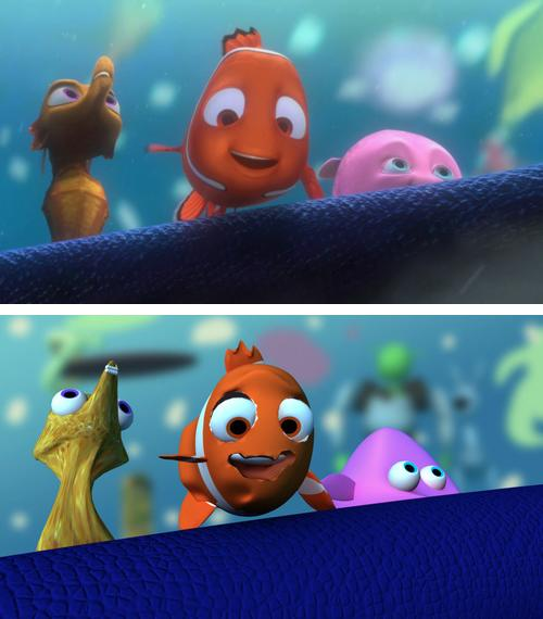 Animated Fish Wallpaper Hd What Animated Films Would Look Like If They Had No Budget