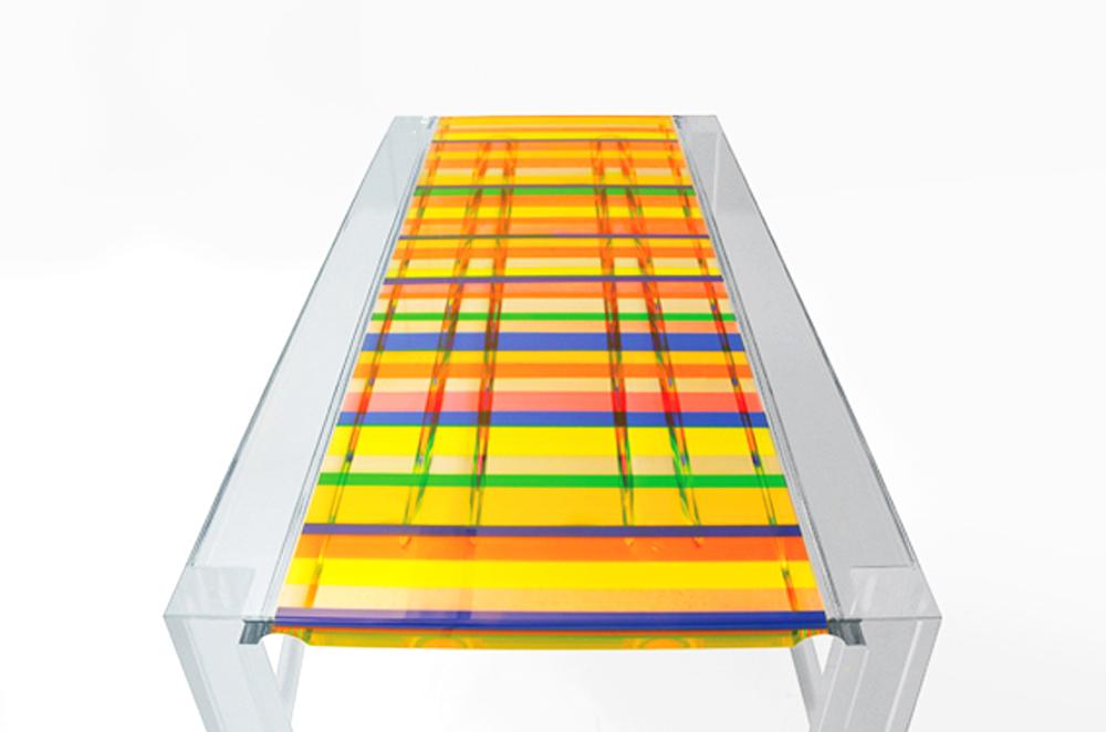 Dining Table In Plexiglass 39baiadera39 Cast Acrylic