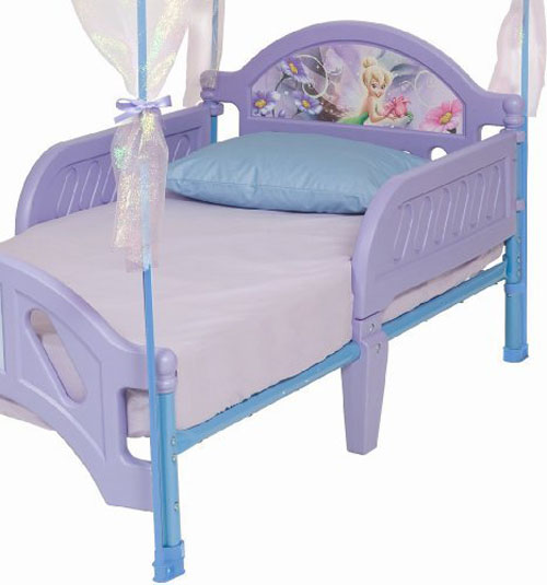 Disney Fairies Toddler Bed With Canopy Your Little Girl