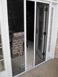 French Doors - Retractable Screen Door by Screen Solutions ...