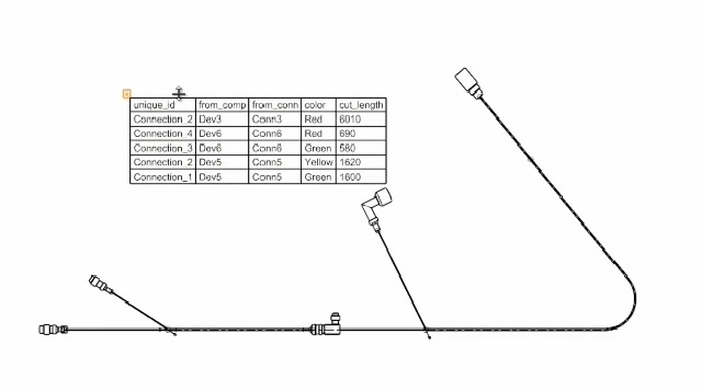 3D Electrical Wiring  Harness Design