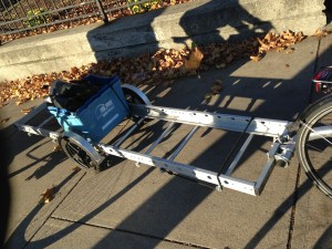 Bike Cart seen on JP bike path.