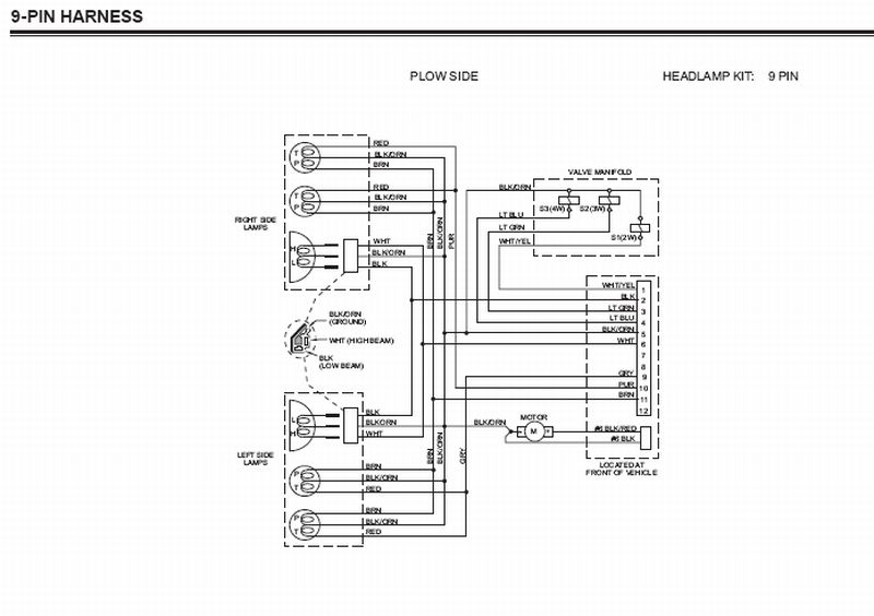 2013 2500hd snow plow wiring diagram