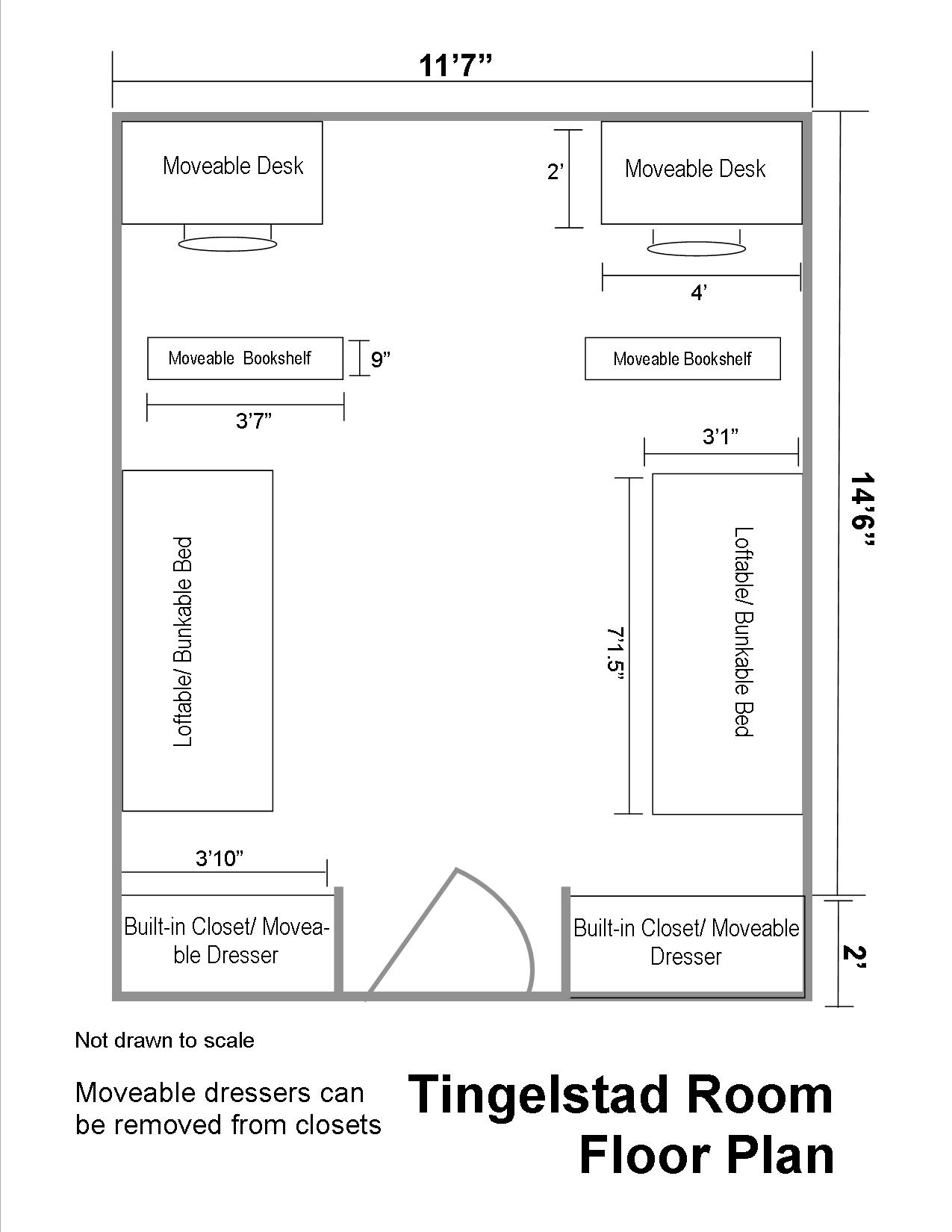 Tingelstad Hall Floor Plans Residential Life Plu