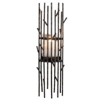 Twig Wall Metal Candle Holder | Plum & Post