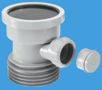 Grey Plastic Soil Pipe to Cast Iron or Clay with Boss ...