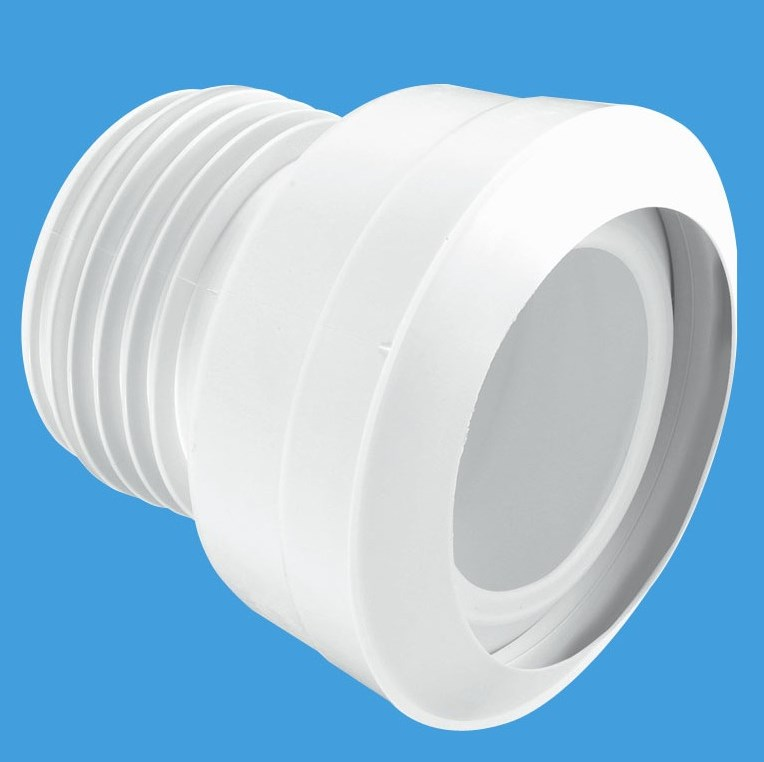Mcalpine 3 1 2quot Straight Toilet Pan Connector Plumbers