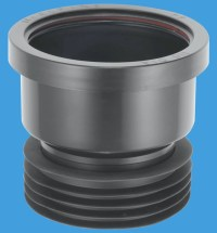 Plastic Soil Pipe 110mm to Cast Iron or Clay Black ...