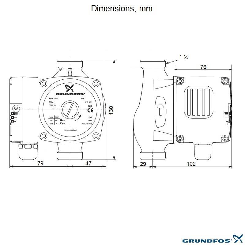 grundfos ups2 wiring diagram