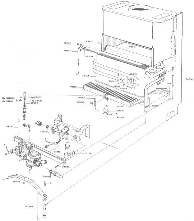 noritz plumbing diagram