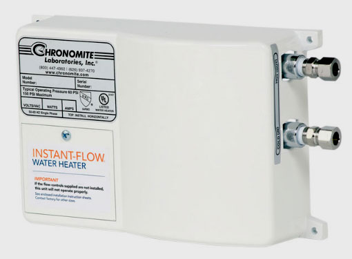 Chronomite Instant Flow Water Heaters