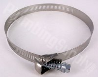 Marine Grade ALL Stainless Steel Hose Clamps