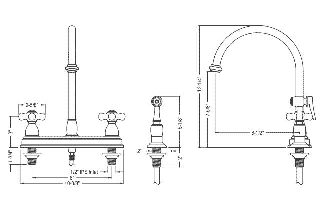 Gooseneck Kitchen Faucets