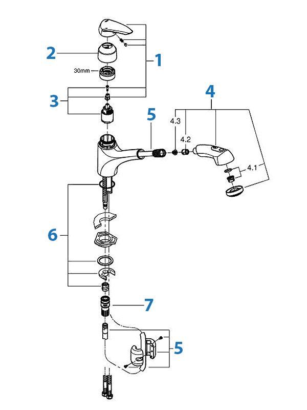 schematic kitchen diagram