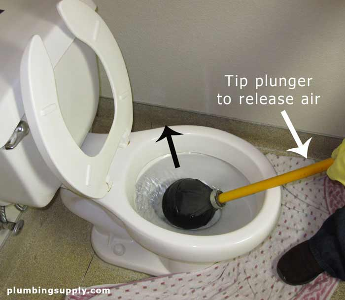 Instructions On How To Unclog A Toilet