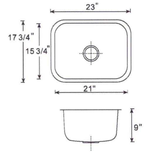 Heavy Duty 16 Gauge 304 Stainless Steel Undermount Kitchen