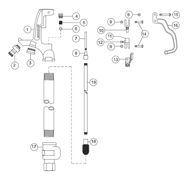 water hydrant diagram