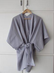 kimono gris à nouer 4