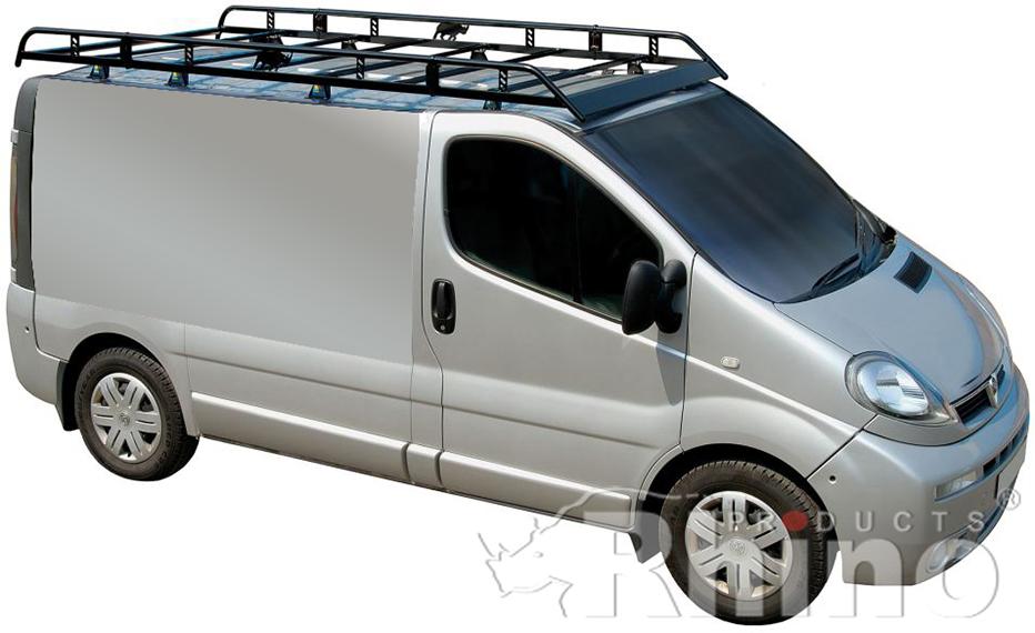Vauxhall Vivaro Pre Sept 2014 Rhino Van Roof Rack Swb Low