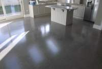 Polished concrete floor - polished to a platinum finish ...