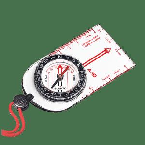 Suunto A-10 compass with lanyard.  From Suunto.