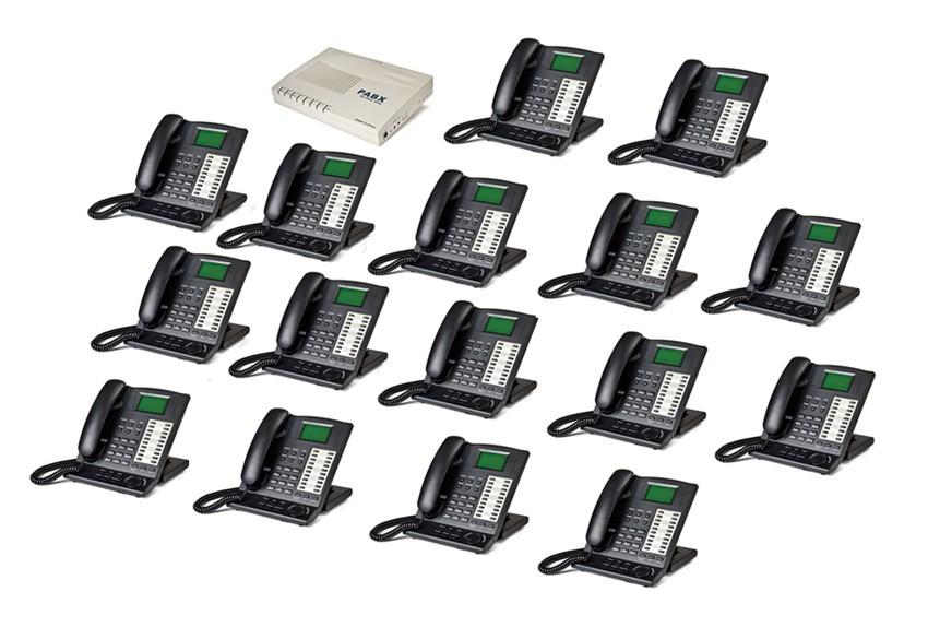 business phone system Schaltplang
