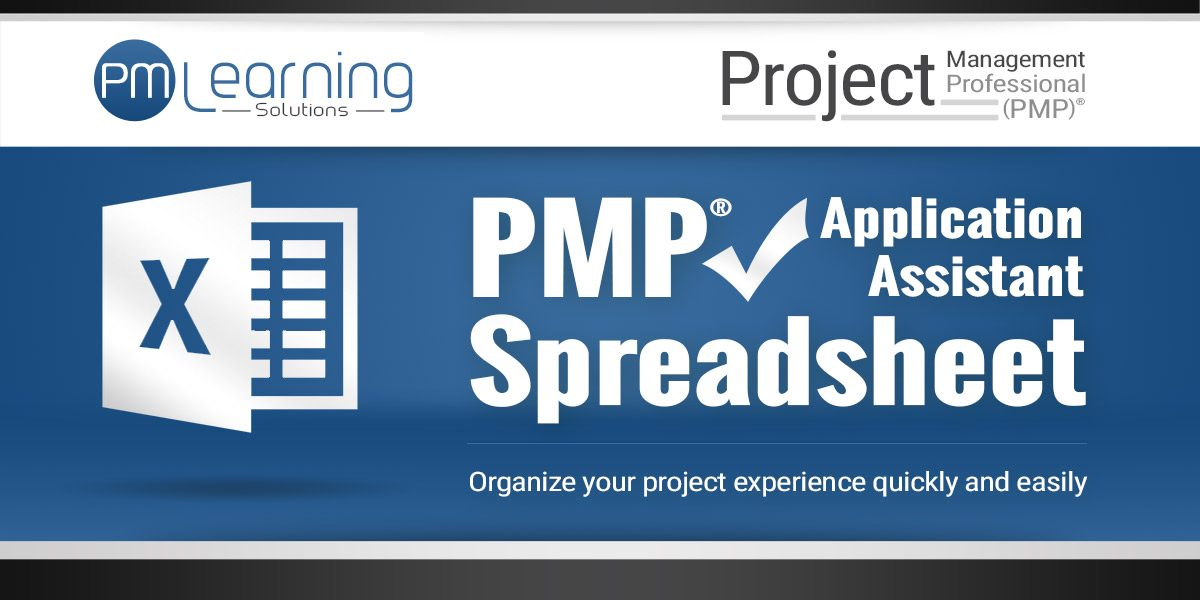 PMP Application Assistant Spreadsheet - PMP Spreadsheet