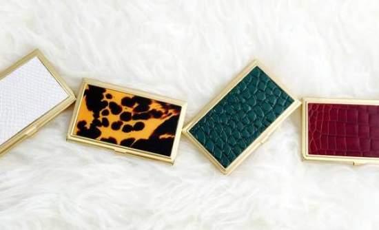 prim & proper credit card holders