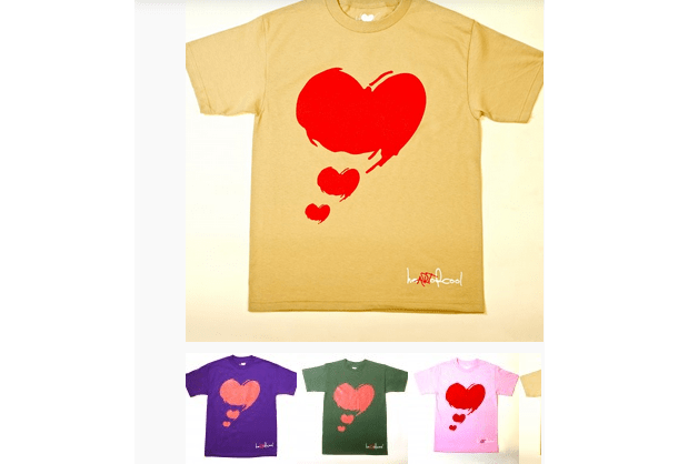 Get Into A Cool Look With heARTofCOOL T-Shirt