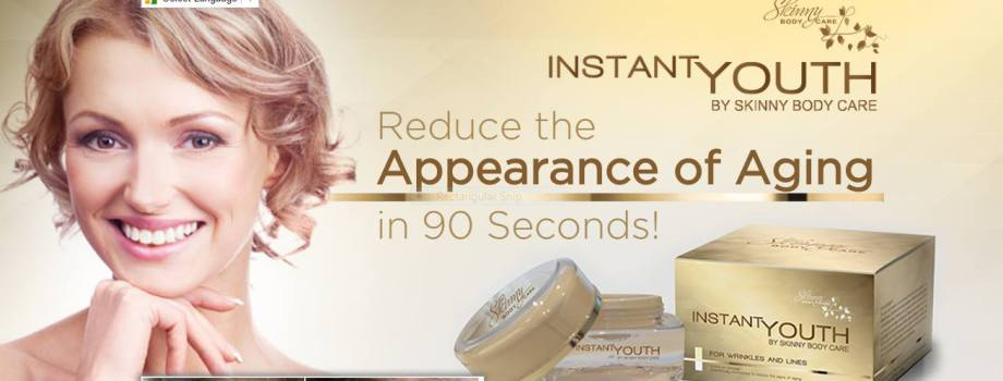 Reduce the appearance of aging in 90 seconds!