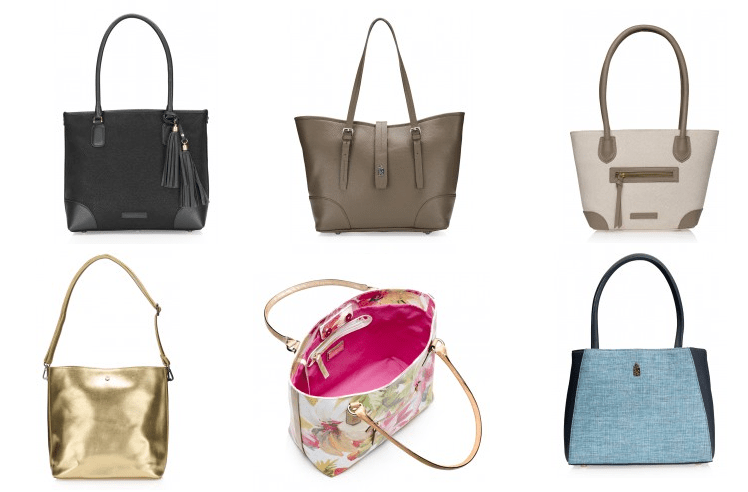 Fabulous range of tote bags in classic neutral shades at Franchetti Bond