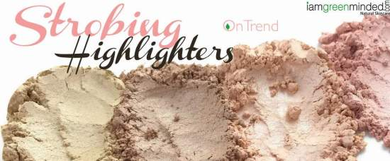 makeupstrobinghighlightersiamgreenminded