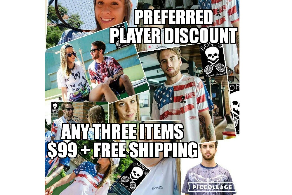 Would you like to have a preferred player discount on sportswear ?