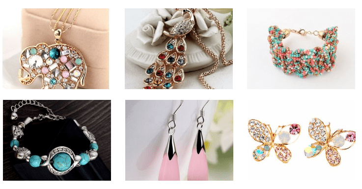 Buy trendy and affordable jewelry at Aqua Kiwi