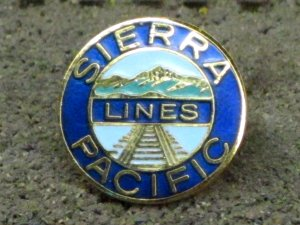 Sierra Pacific Lines pin