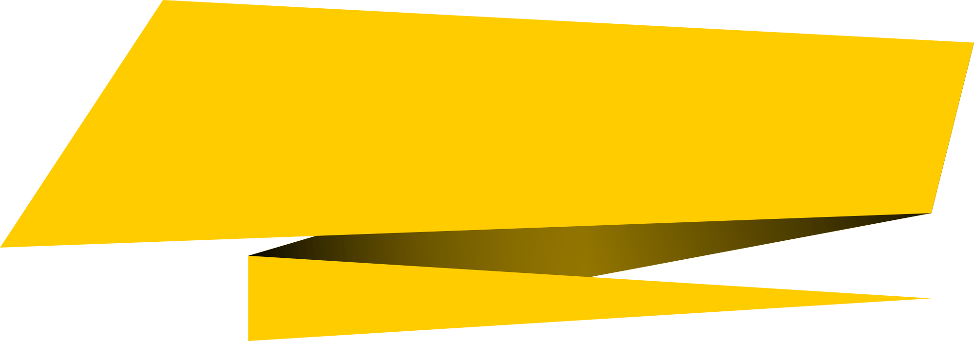 Yellow Banner Png Background Image Png Arts