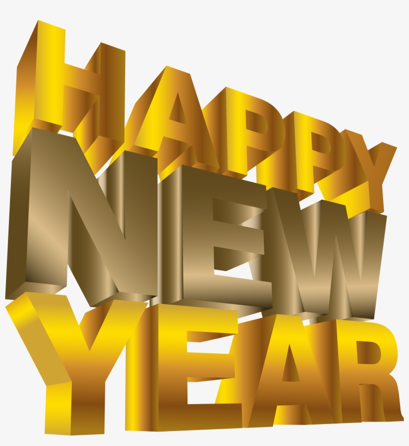 Happy New Year Png Clip Art Image - Happy New Year Png - Free
